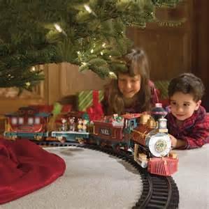 review holiday santa express christmas train set 35 piece set remote control radio transmitter