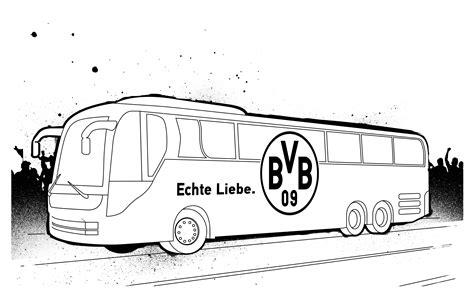 Dortmund Kleurplaat by 15 Bvb Bilder Zum Ausmalen Nicks