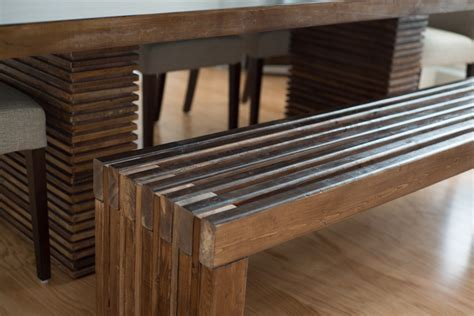 Ana White   Modern Slat Bench   DIY Projects