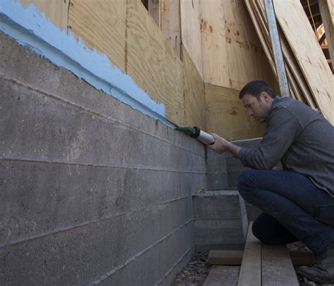 Sealing the Foundation to the Framing   JLC Online