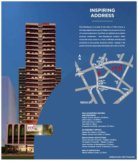 red residences  deal condos  sale  makati city