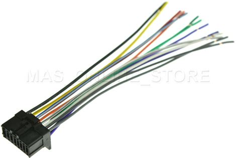 wire harness for pioneer deh p360 dehp360 deh p370mp