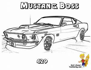 Brawny Muscle Car Coloring Pages on Pinterest | Muscle ...