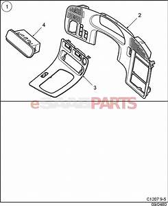Saab 9 3 Parts Diagram Interior