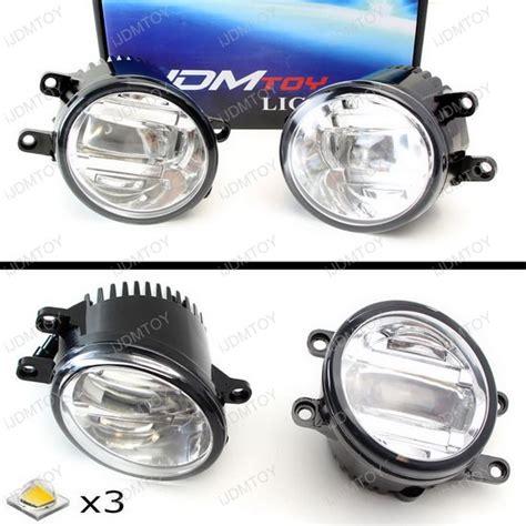 toyota venza fog light assembly oem spec 15w cree high power led fog lights assembly for
