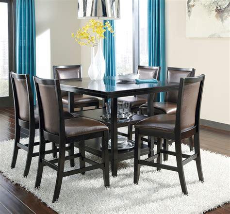 Trishelle Rectangular Counter Dining Room Set From Ashley