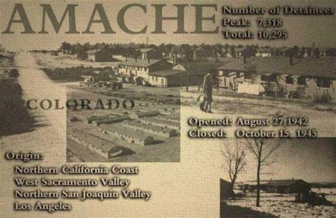 Amache Internment C Colorado History Project