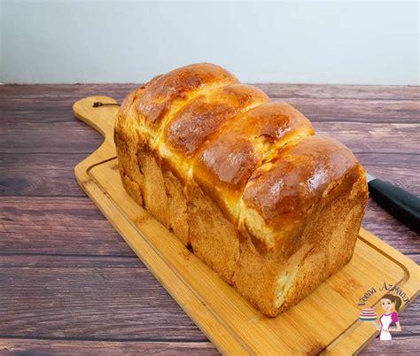 Brioche Sandwich Bread Recipe - Veena Azmanov