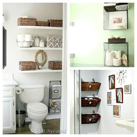 under bathroom storage ideas 11 fantastic small bathroom organizing ideas a cultivated