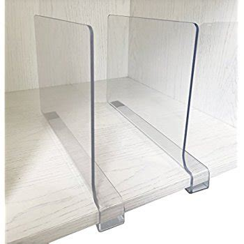 acrylic shelf divider home kitchen