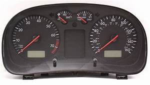 Gauge Instrument Cluster 00-01 Vw Jetta Golf Mk4 - Speedometer