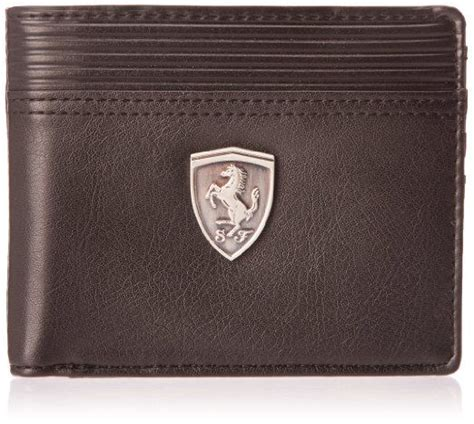 puma brown ferrari wallet  men buy    price