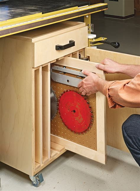 table  storage cart woodworking project woodsmith plans