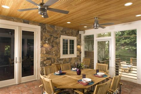 ceiling fan for screened porch elegant ceiling fan light kits in porch traditional with