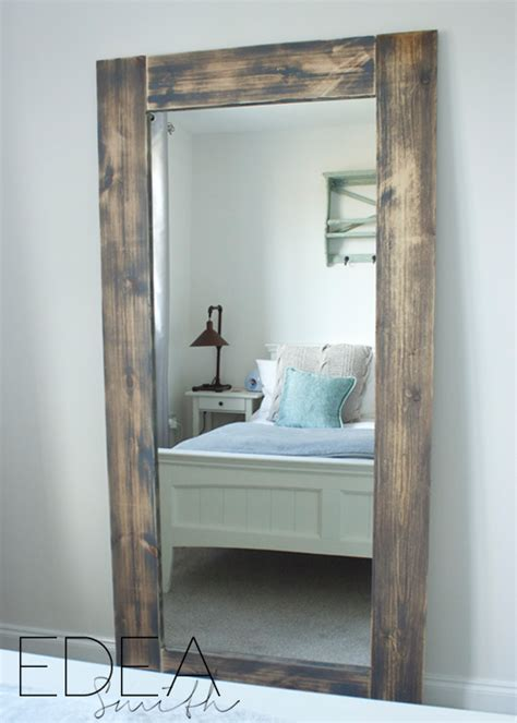 diy upcycled ikea hack mirror frame  plans