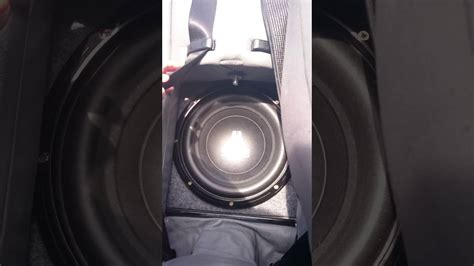 jl audio wv subwoofer  bmw  convertible youtube