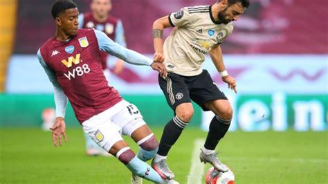 Bruno Fernandes penalty vs Aston Villa: Man Utd equal ...