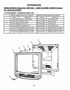 Sanyo Ds25204 Service Manual Download  Schematics  Eeprom