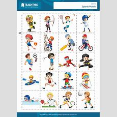 Sports Esl Games Worksheets Activities