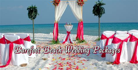 florida wedding packages florida barefoot bamboo arbor wedding packages barefoot weddings