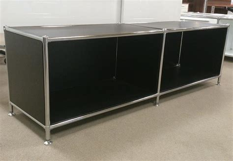 lowboard schwarz matt lowboard piko metall schwarz gestell verchromt