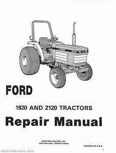 Ford 1920 2120 Service Manual