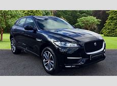 Used Jaguar FPace RSport d Black VK66ZHT