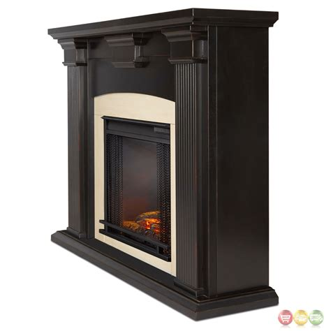 adelaide electric led heater fireplace  antique black