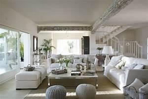 Classic Style Interior Design In White And Beige