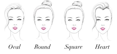 twelve hairstyles all people with heart shaped faces have