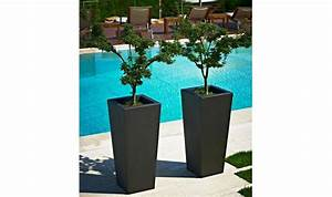 Grand Pot De Fleur Interieur : gros pot de fleur exterieur design ~ Premium-room.com Idées de Décoration