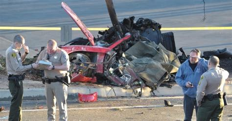 Burned charred dead body pictures of Actor Paul Walker