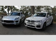 Porsche Macan v BMW X4 Comparison review