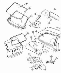 Dodge Grand Caravan Latch  Vent Window  Left  Manual