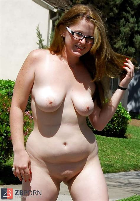 Chubby Teenager Millie Nude Outside ZB Porn