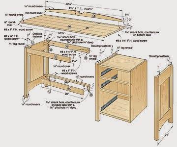 joe  carpenter create diy computer desk plans