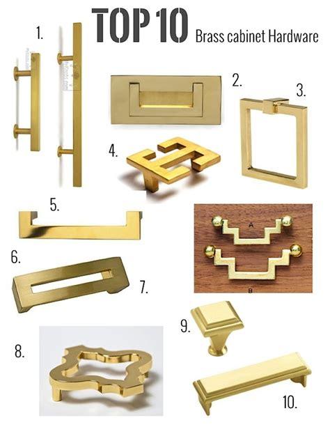 brass kitchen cabinet handles my top 10 brass hardware picks jill sorensen lifestyle