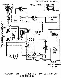 I Need To Find A Vacuum Line Diagram Or Help With Routi