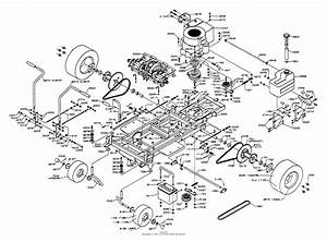 Dixon Ztr 428  1992  Parts Diagram For Chassis Assembly