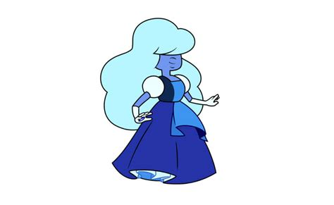blue hair dye sapphire from steven universe costume diy guides for