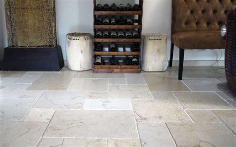 Kalkstein Fliesen Salem Antik Getrommelt  Naturstein Online