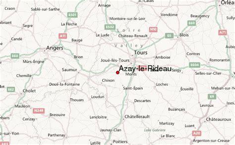 azay le rideau carte azay le rideau location guide