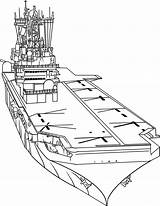 Aircraft Coloring Draw Carrier Pages Carriers Step Military Navy Ship Drawing Drawings Easy Awesome Printable Pencil Planes Boats Dragoart Categories sketch template
