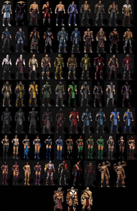 Mortal Kombat 2011 Characters By Lechiffre17 On Deviantart