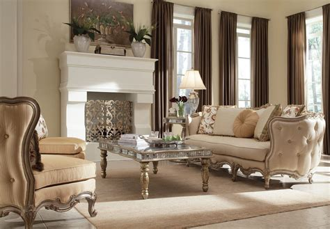 Elegant Living Room Furniture White Luxurious Sets Luxury