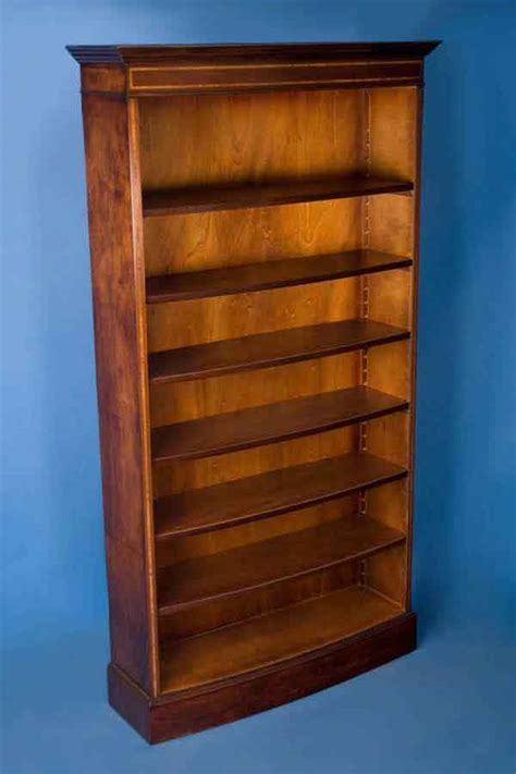 used bookcases for sale antique style mahogany bow front bookcase for sale
