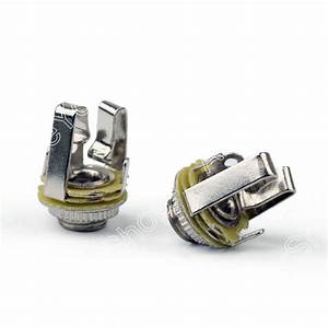 Sale 10pcs 3 5mm Stereo Socket Jack Female Connector Panel Mount Solder For Headphone 1  8inches