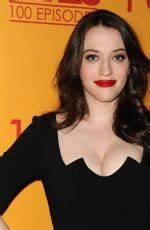 Kat Dennings Broke Girls Episode Celebration