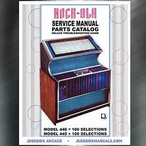 Rock Ola Models 448 And 449 Service Manual And Parts