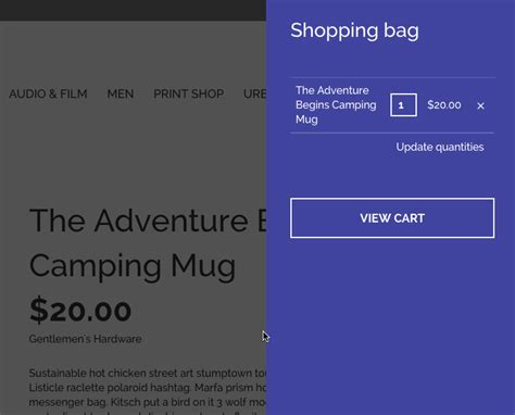 drupal commerce order message template improving shopping cart ux with commerce cart flyout